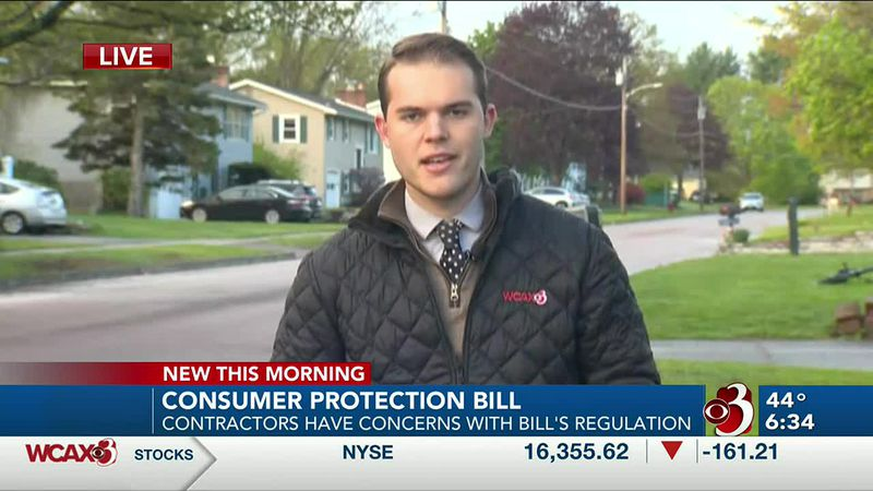 Bill looks to protect the consumer from scams or fake contractors.