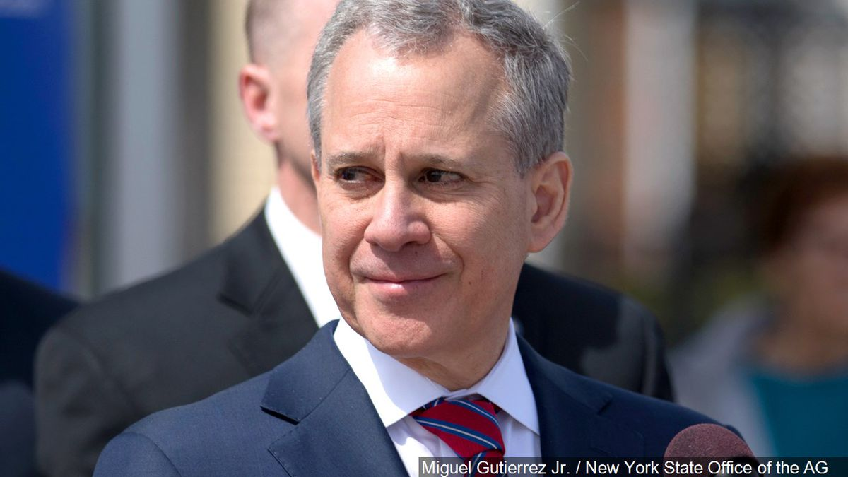 Former New York Attorney General Eric Schneiderman-File photo