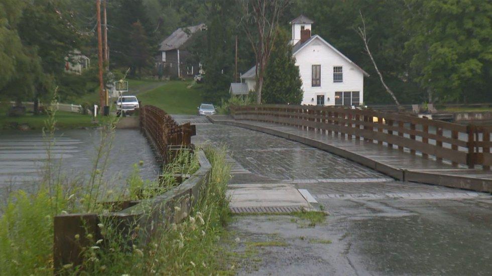 The Brookfield Floating Bridge