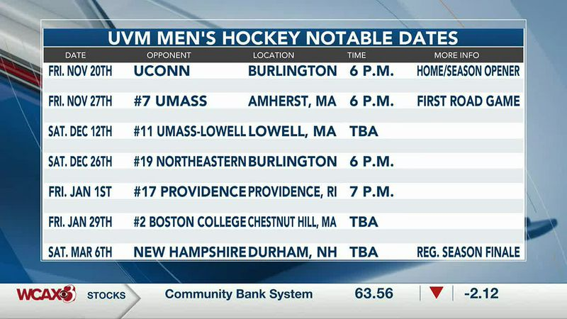 Both teams to open season November 20th against UConn