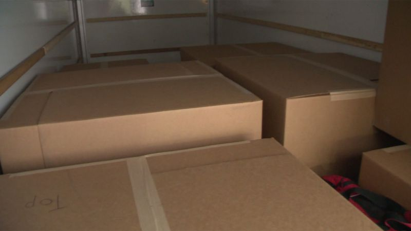 Inside these boxes are the pieces of a mysterious made in Vermont table that's headed for the...