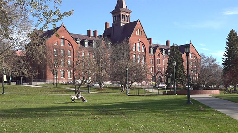 Vigilance is the message on the UVM campus in Burlington after seven new COVID cases were...