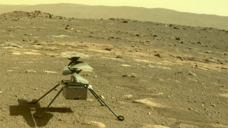 The Mars Rover helicopter is about to make history.