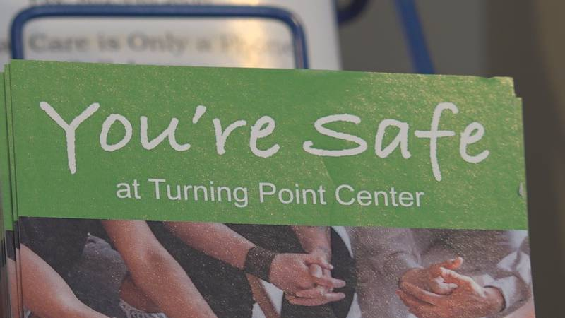 A brochure at the Turning Point Center- Chittenden County