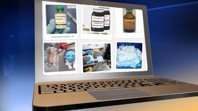 A woman has been accused of selling unapproved COVID-19 remedies over the internet, the U.S....