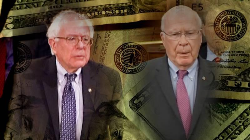 Vermont Sens. Bernie Sanders and Patrick Leahy