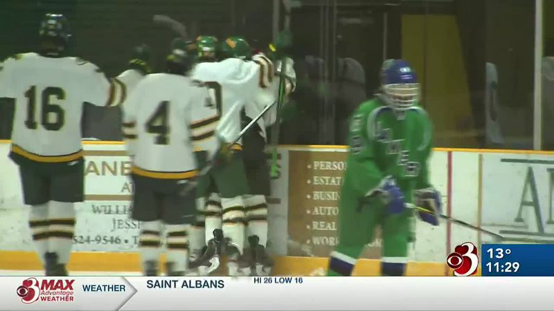 Highlights from wins by BFA, CVU, Missisquoi and Rice boys and South Burlington girls hockey.