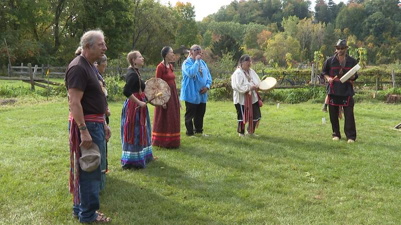The Abenaki culture was celebrated in Burlington with traditional dress, song and the historic...