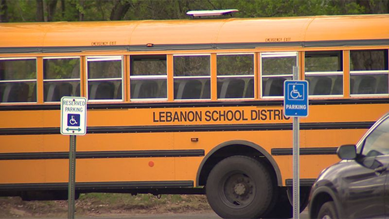 The Lebanon Middle School will move to fully online learning for a week because a number of...