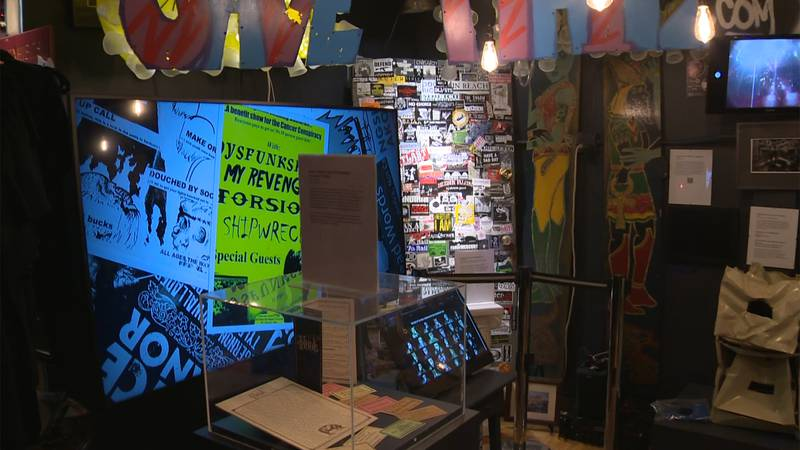 The Tiny Museum of Vermont Music History