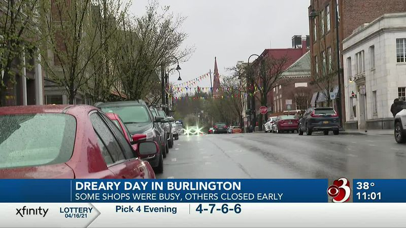 rain in burlington
