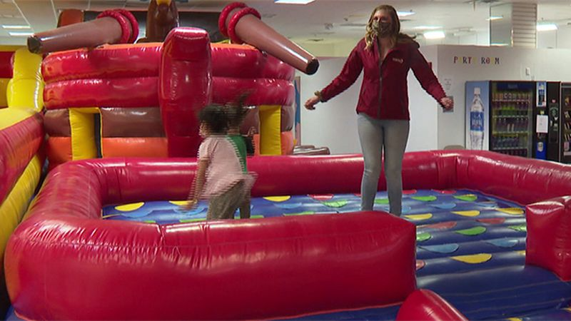 The Kids Zone at Champlain Centre in Plattsburgh is back open.