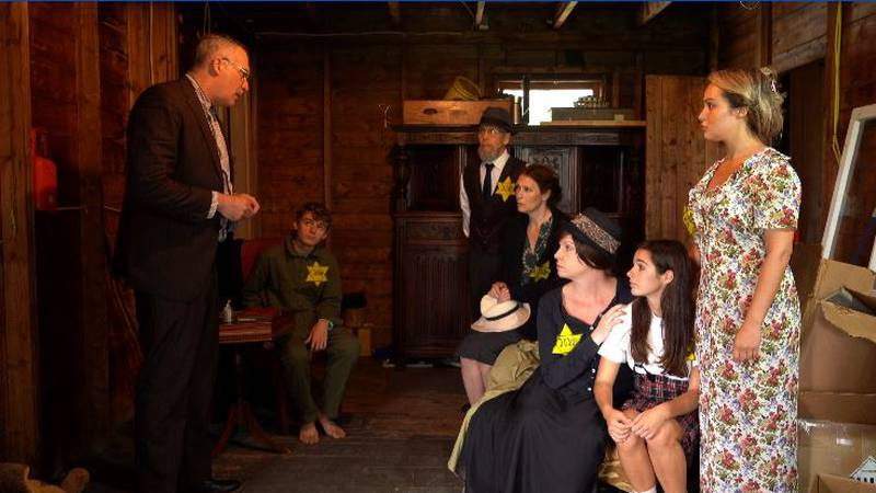 """Courtesy photo from the production """"The Diary of Anne Frank"""""""