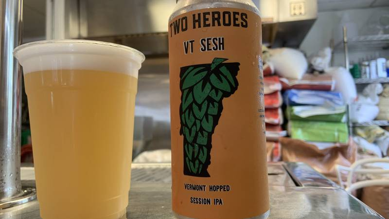 The small brewery opened up in mid-February at their spot on Ferry Road in South Hero.