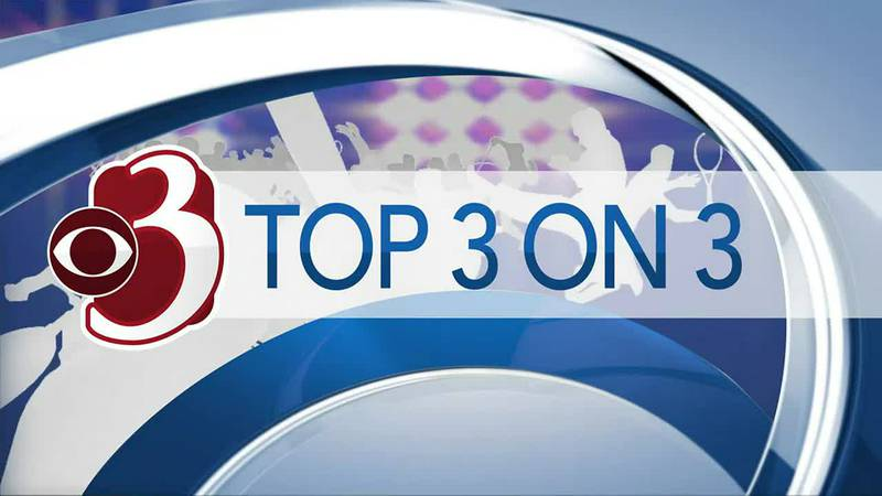 Top 3 on 3 for Monday, September 13th