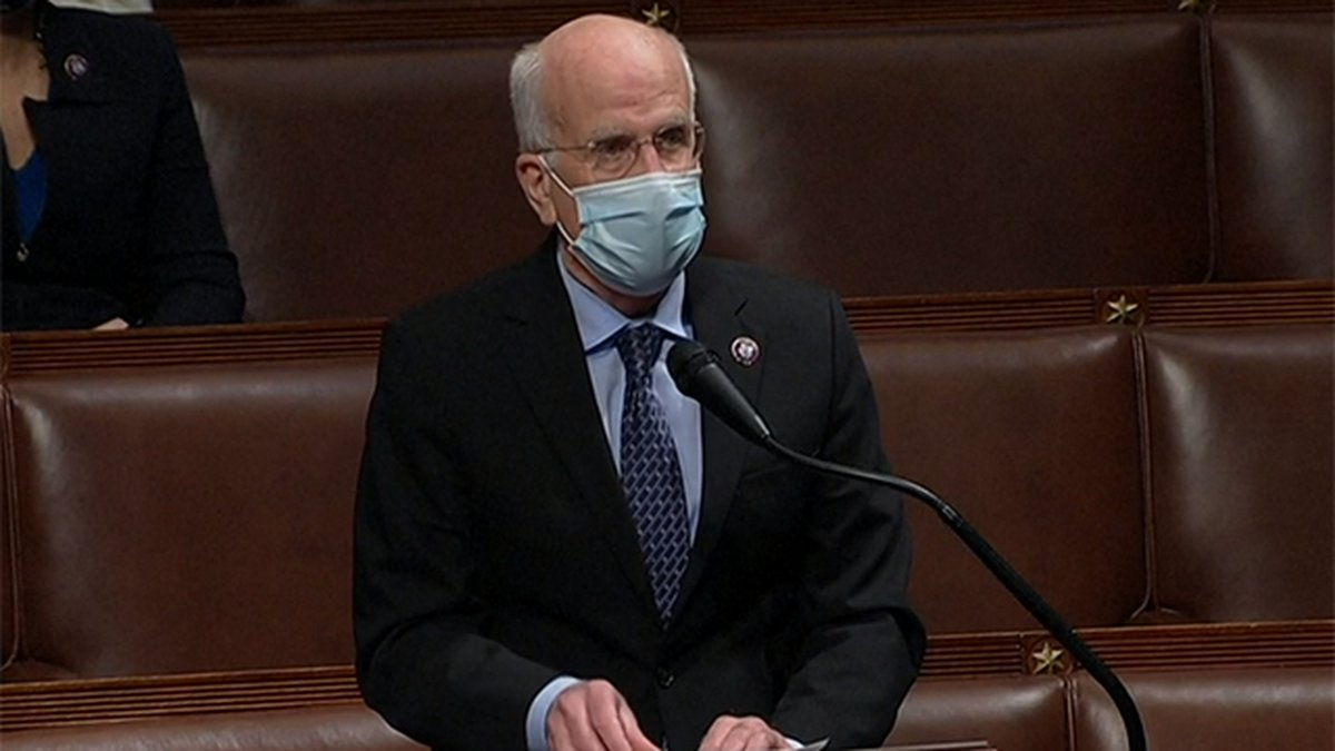 Rep. Peter Welch, D-Vermont, speaking on the House floor.