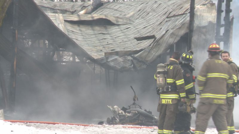 Investigators think a furnace sparked the fire.