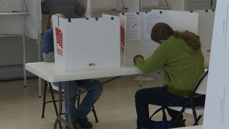 Many New Hampshire residents hit the polls on Tuesday for Town Meeting Day.