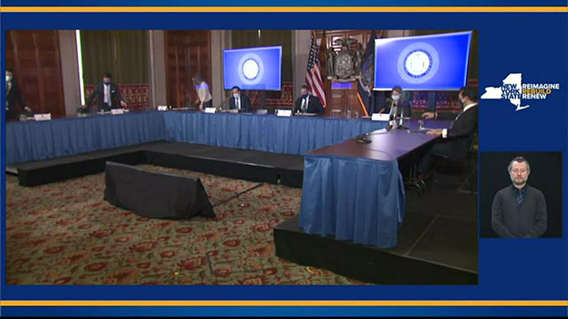 Raw Video: Cuomo COVID-19 briefing