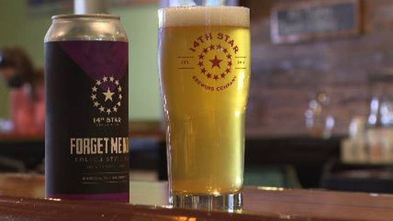 """14th Star Brewing in Saint Albans has once again launched their """"Forget Me Not"""" beer, with a..."""
