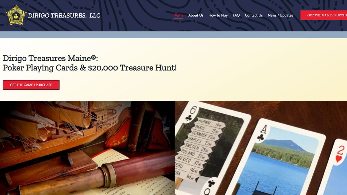 A Maine couple has hidden $20,000 somewhere in the state and they're inviting treasure seekers...