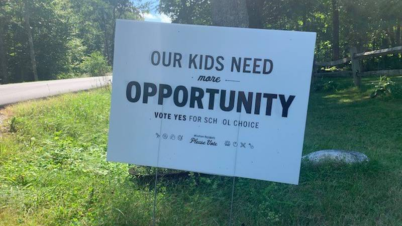 Windham voters opted to close the town's elementary school on Tuesday.
