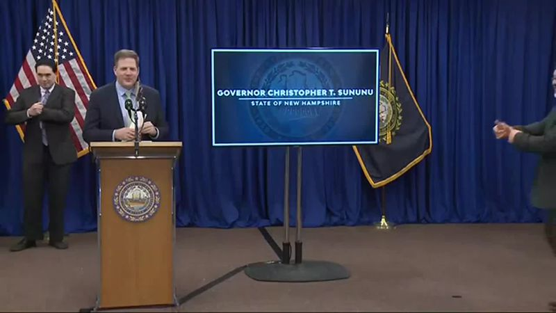 Raw Video: Sununu COVID-19 briefing