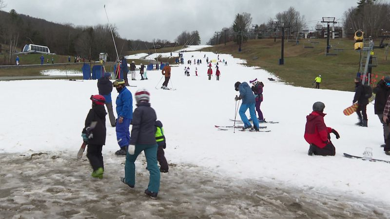 Ski town businesses are cautiously optimistic as Vermont ski resorts start to open.