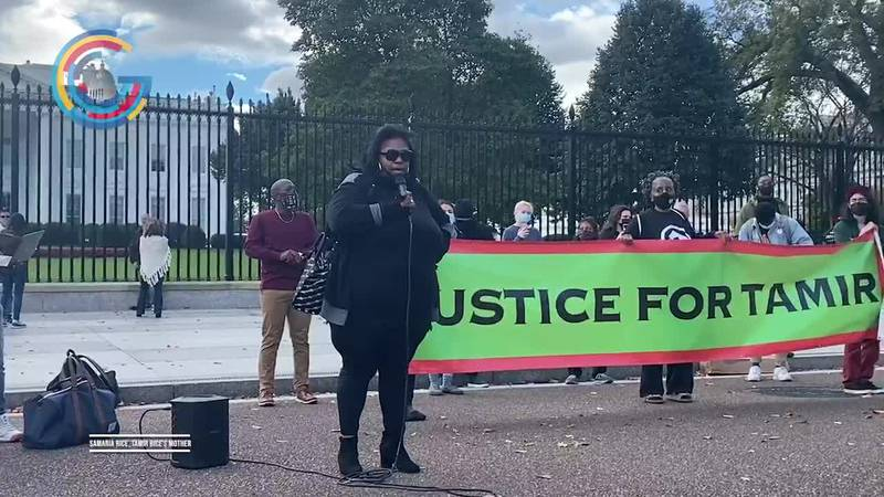 Ohio mother in D.C to fight for justice for son slain by police