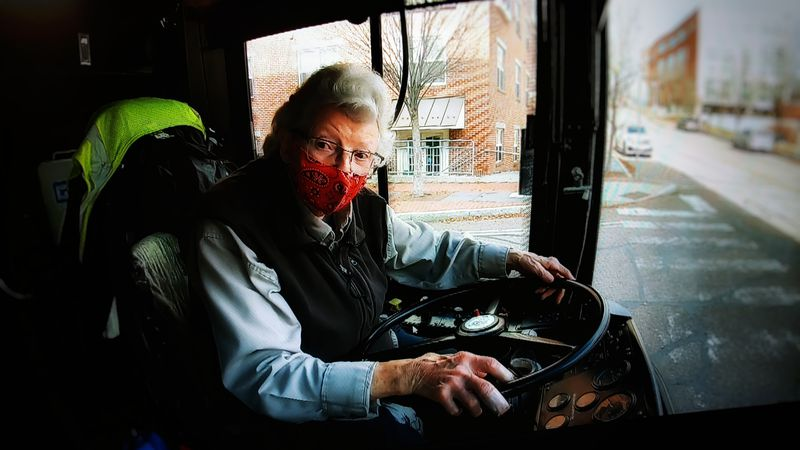 This bus driving Super Senior just celebrated a big birthday.