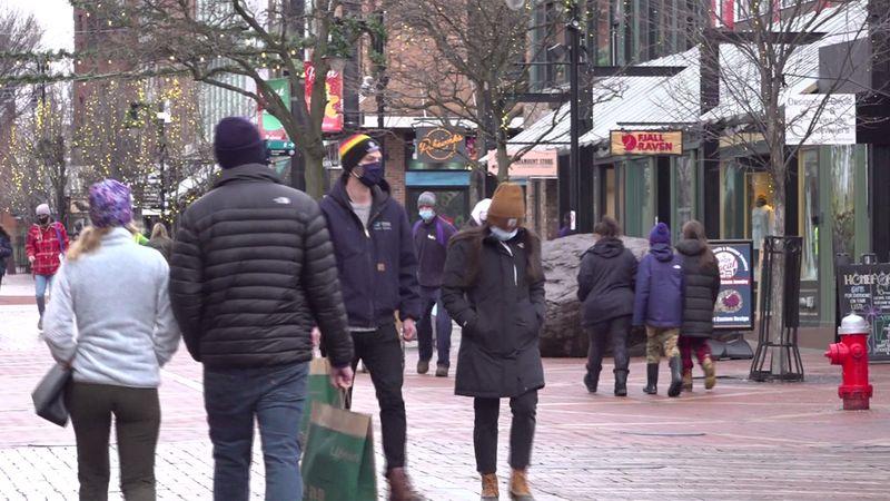 The Church Street Marketplace in downtown Burlington