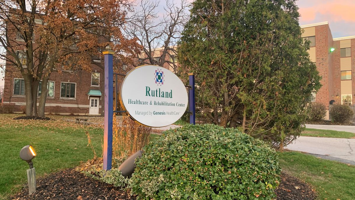 There is a COVID outbreak at a skilled nursing facility in Rutland.