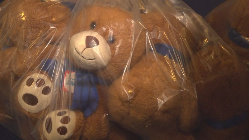 Out of the 900 bears Go Calendar sold, 800 were donated back.