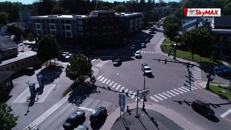 The Five Corners in Essex Junction