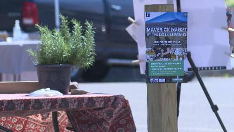 The Maverick Market will run each week until September 16th.