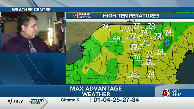 Dave with weather