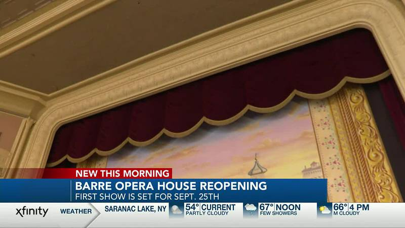 Barre Opera House reopening