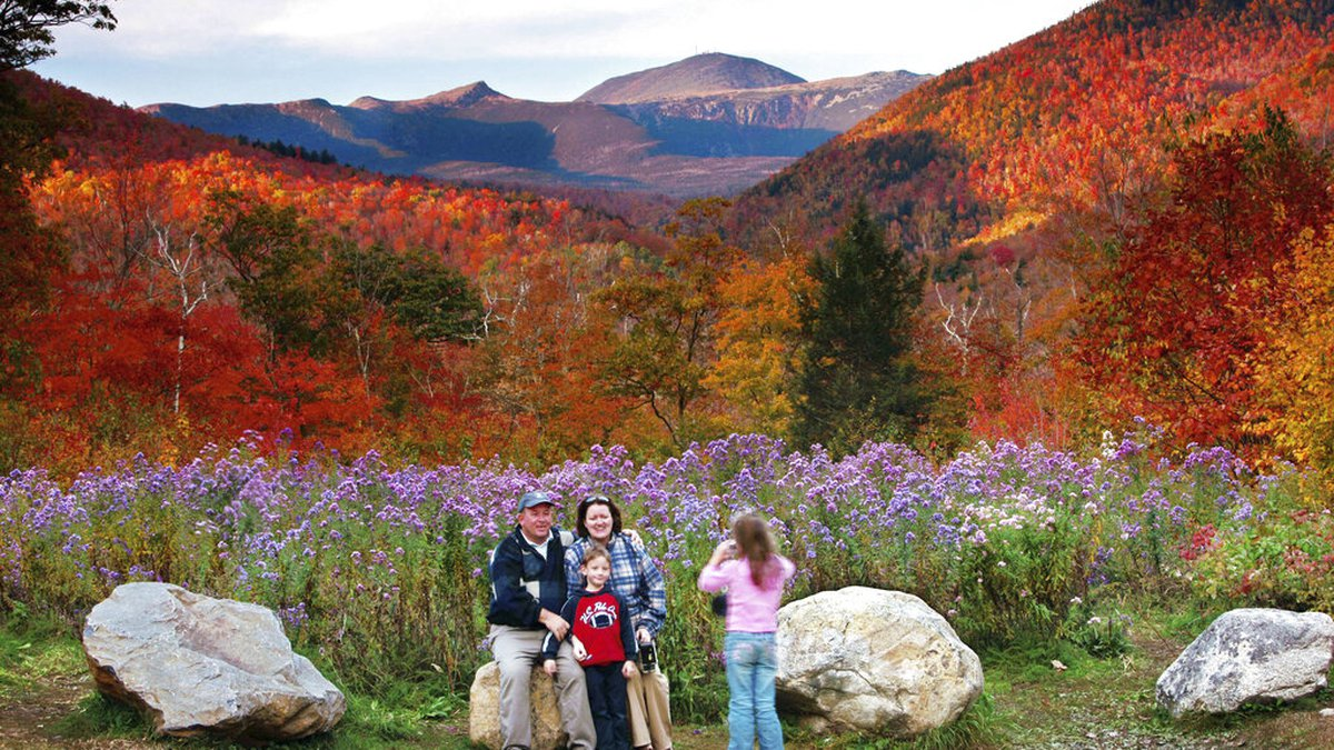 File photo - Crawford Notch State Park in New Hampshire.