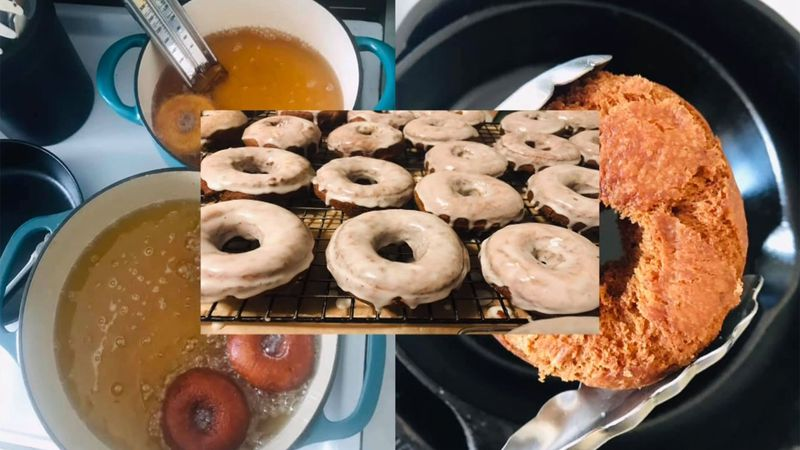 A Hardwick couple shares free doughnuts with their community.