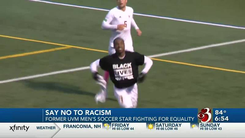 UVM men's soccer alumnus Brian Wright dealing with racist messages