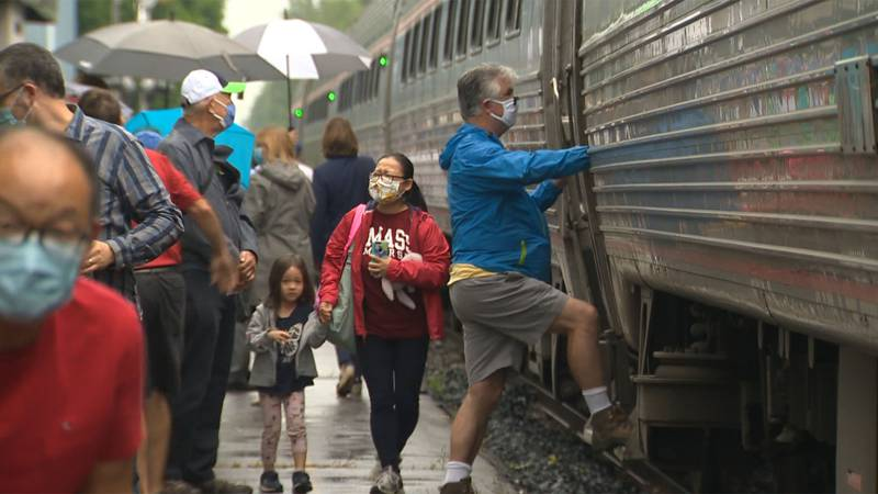 A sold-out Vermonter train rolled into Essex Junction Monday morning, signaling another step in...