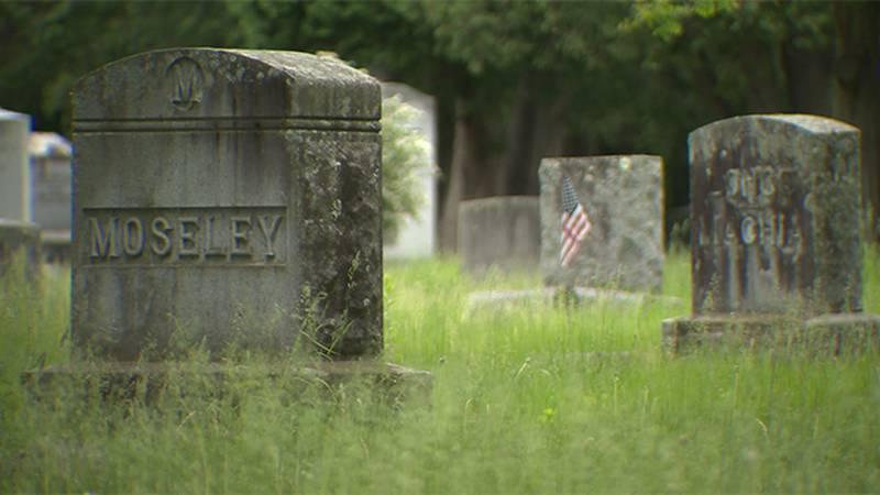 Greenmount Cemetery in Burlington.