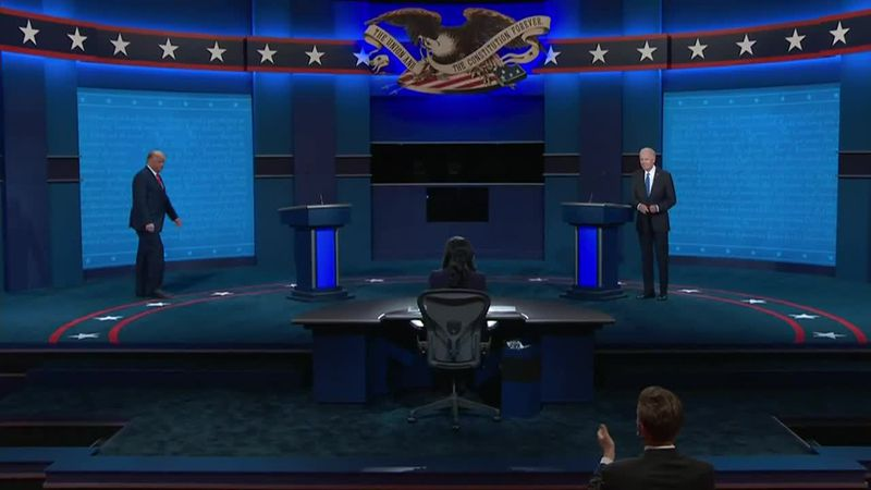 President Trump and Joe Biden square off in second and final debate of the 2020 election.