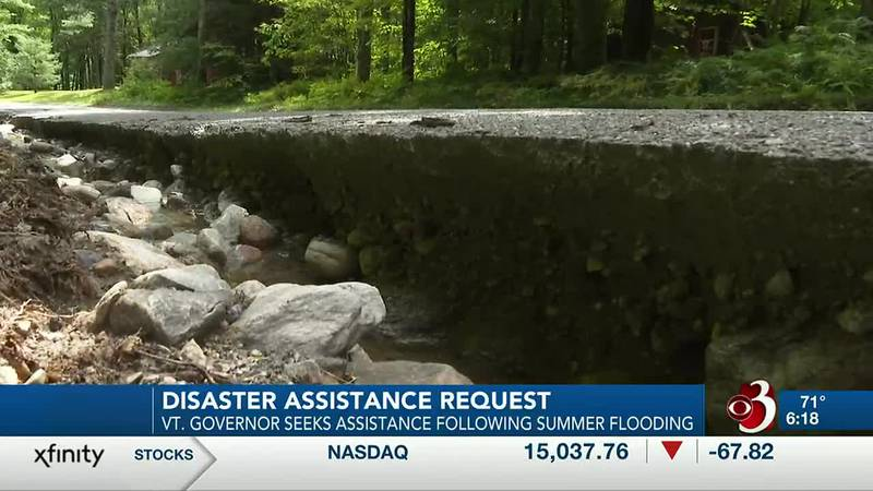 Vermont Gov. Phil Scott is asking the federal government to help Bennington and Windham...