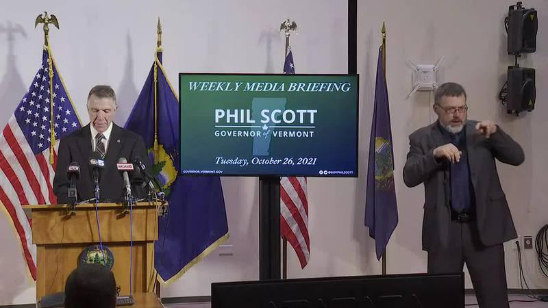 Raw Video: Scott weekly media briefing - Oct. 26