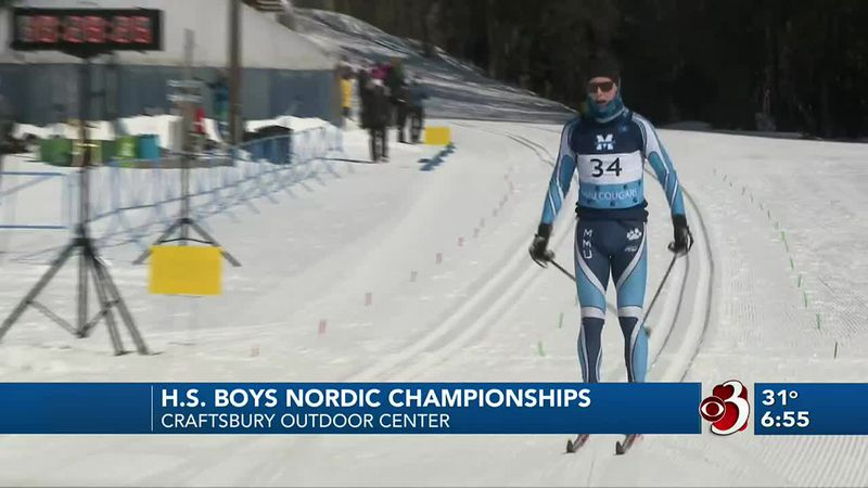 North Country's Jake Young and Aiden Casey of Craftsbury sweep the individual races in D-1 and...