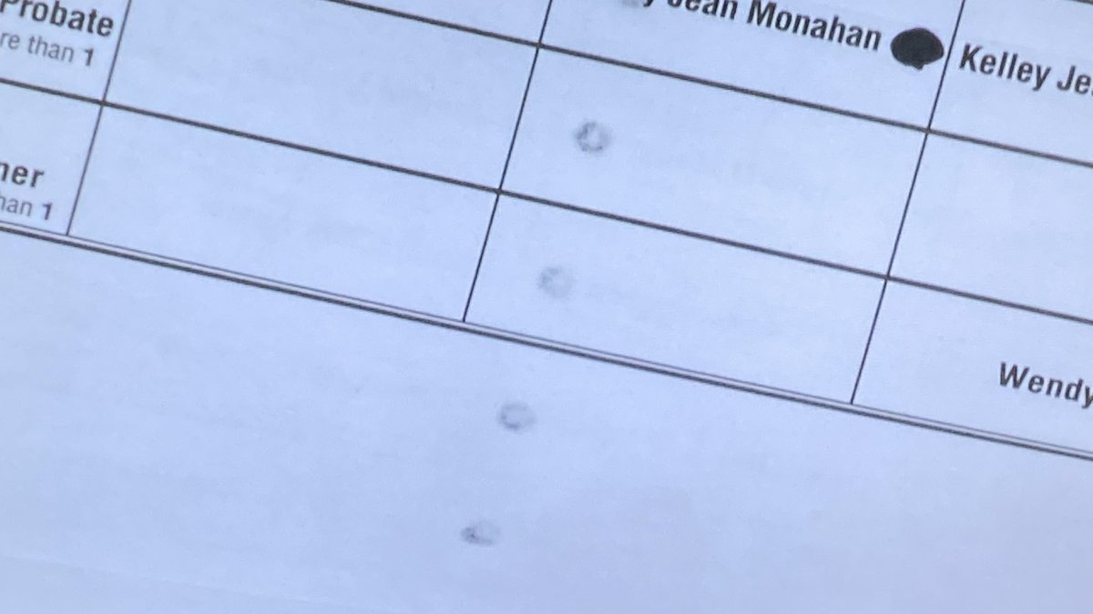 Sharpie bleed-through on ballots will not disqualify them, according to NH election officials.