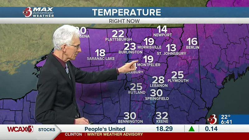 Gary has the latest forecast.