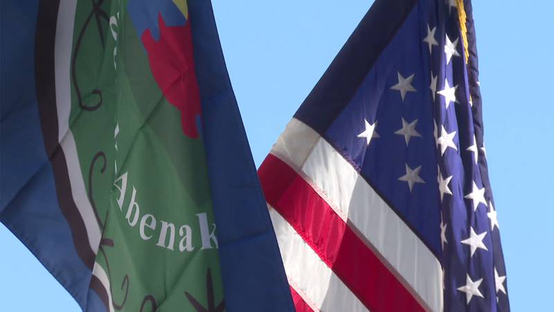 The town of Shelburne is flying the Nulhegan Abenaki flag at City Hall in celebration of...