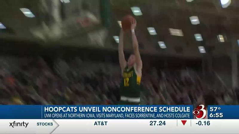 Vermont opens at Northern Iowa, battles Maryland and Providence, visits T.J. Sorrentine and...